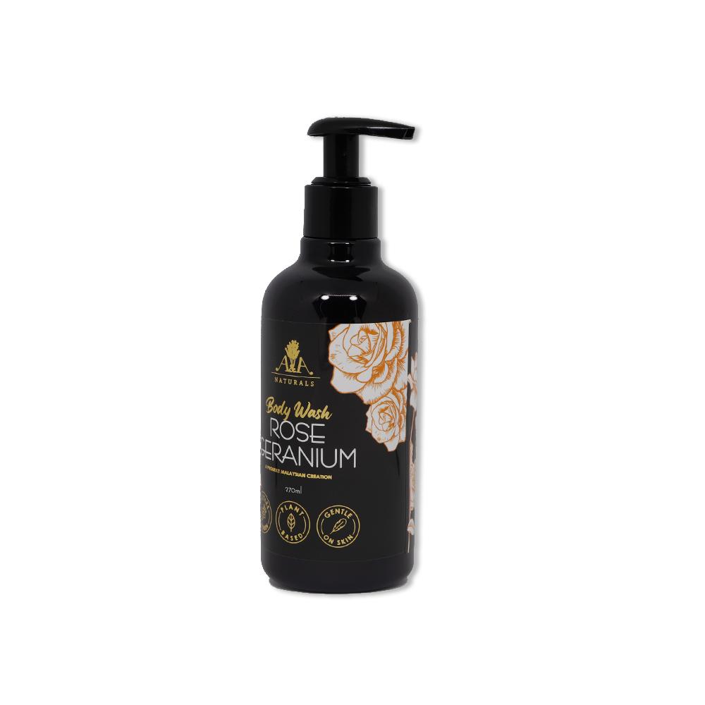 Body Wash Rose Geranium
