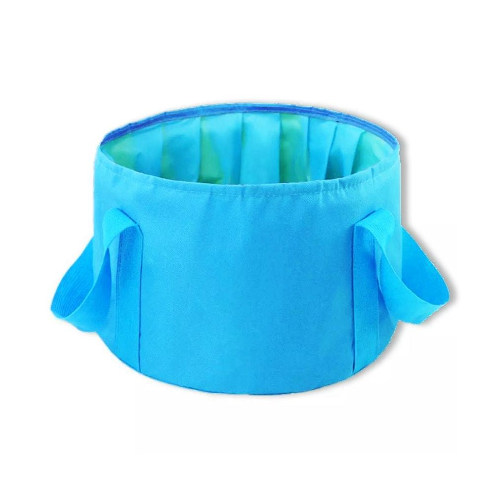 Travel Bucket AA Naturals Blue