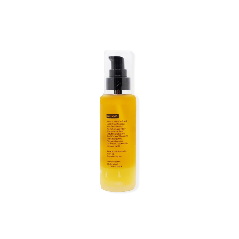 Deep Cleansing Oil AA Naturals bottle side view