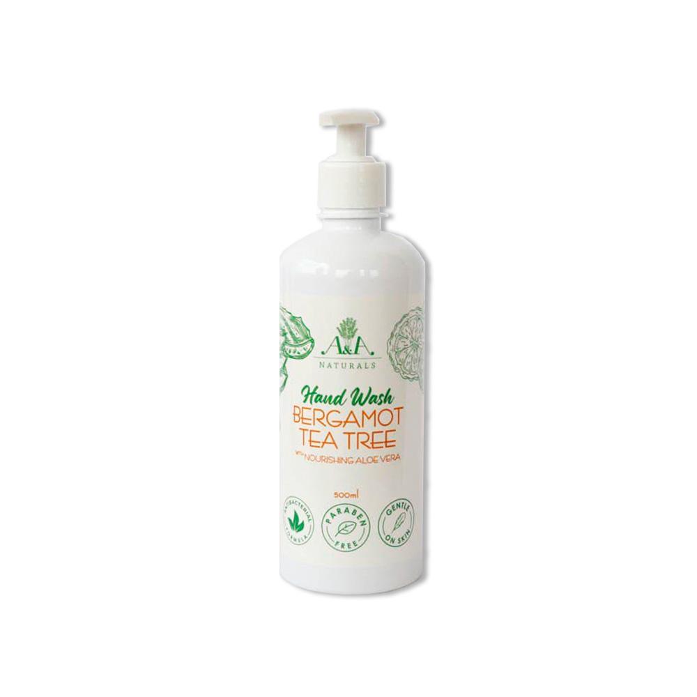 Hand Wash Bergamot Tea Tree 500ml